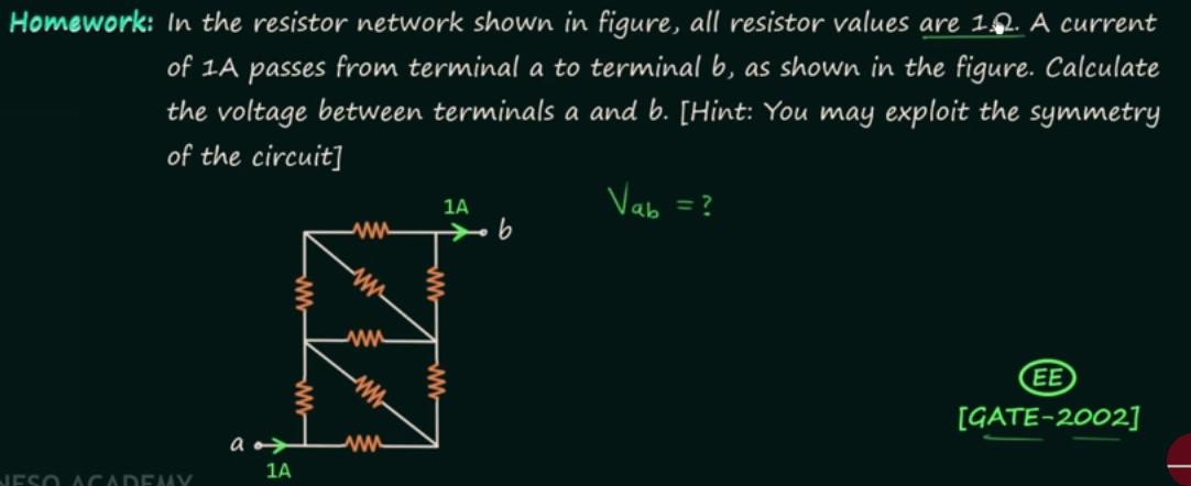 BasicsOfNetworkTheoryProblem9Homework